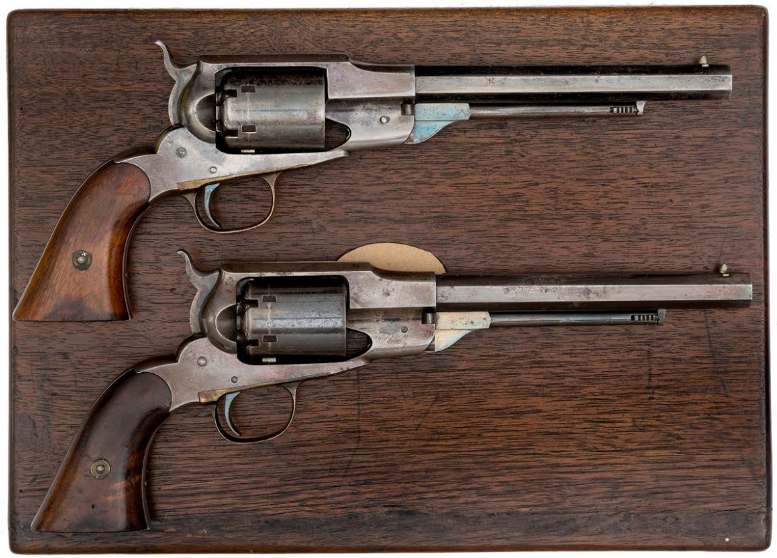 Remington Beal's Navy Percussion Revolvers Right Side.jpg